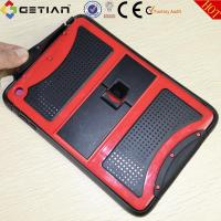 Red Ipad Mini Protective Case With Screen Protector, PC Hard Case Manufactures