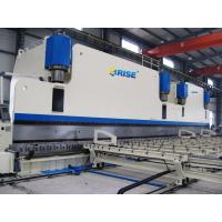 Electric Hydraulic CNC Tandem Press Brake Pole Bending With Automatic Feeding Machine Manufactures