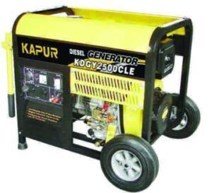 Diesel Generator 3000w Deluxe Range Manufactures