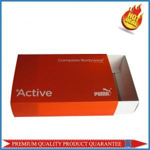 Garment Package Custom Print Color Box Folding Carton PP Sleeve Manufactures