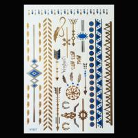 2015 hot sale gold tattoos,metallic temporary tattoos,fashion flash tattoo jewelry tatoo s Manufactures