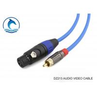 Multimedia Rca Audio Video Cable With Amphenol Connectors ACPL-CYL Manufactures