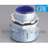 Buy cheap Male Flexible Metal Conduit Connector Fittings Plum Type Straight Liquid Tight from wholesalers