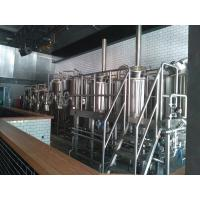 50 HL Commercial Micro Beer Brewing Equipment With Steam Heating Manufactures