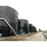 Bolted Glass Fused To Steel Water Storage Tanks Never Need Painting Manufactures