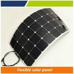 100w flexible solar panel / 30-90 degree bendable solar panel, marine solar panel flexible for hot sale Manufactures
