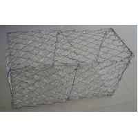China 60×80 Mm Hot Dipped Galvanized Gabion Baskets / Box For Retaining Wall on sale