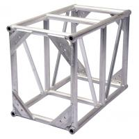 Lightweight Truss Construction Silver Color Square Bolt Concert Lighting Truss Manufactures