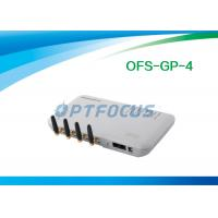 Buy cheap White 4 Channel VOIP GSM Gateway from wholesalers