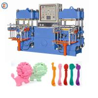 China Hydraulic Press Plate Vulcanizing Machine For Making Silicone Baby Spoon for sale