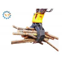 Lightweight Wood Excavator Rock Grapple Show Outstanding Performance Manufactures