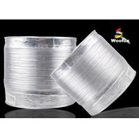 Compressible 2 Inch Aluminum Foil Ducting Flame Proof With Double Layer Manufactures
