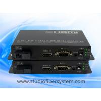 HDMI over  fiber extenders with RS232 control data point to point popplication for remote CCTV system Manufactures