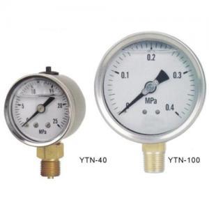 Standard liquid filled vibration-proof pressure gauge Manufactures