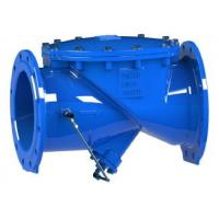 RDCS Ductile Iron Swing Check Valve Hydraulic Cushion Double Flange Design Manufactures