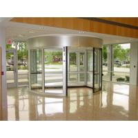 China With Door Leaf Stop Positioning Function Induction Automatic Revolving Door with 2 wings on sale