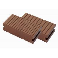 140X39 WPC Exterior Maintenance-free anti-UV wpc solid decking with accessories Manufactures