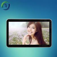 Flat LCD 10.1~84 Inch wall mounted screens Advertising Player With Internet Version Manufactures