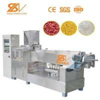 Full Automatic Artificial Rice Production Line Artificial Puff Rice Machine Manufactures