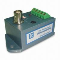 Video Balun with Single Channel Active, 1,500 to 2,000m Transmit Distance and Transient Protection Manufactures