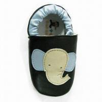 Girl's Shoes with Black/Blue PU Upper, Bone Mesh Lining/Insole and Elastic Ankle Manufactures