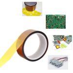 Self Adhesive Tawny Kapton Polyimide Tape , Electric Task Kapton Polyimide Film Tape Manufactures