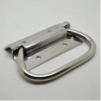 China Toolbox Iron Foldin handle with nickel plated for box/case/chest/truck J201 J202 J203 J204 on sale