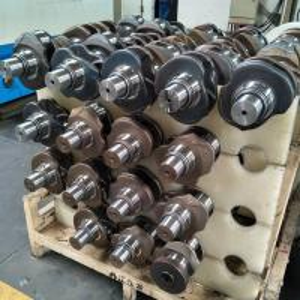 Wooden Case 2Y Casting Alloy Steel Crankshaft  For Toyota 13411-72010 Manufactures