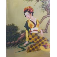 Chinese National Style Oil Painting (OLP10-001) Manufactures
