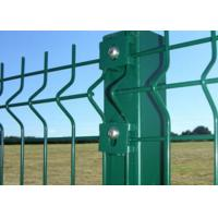 2000 X 2500mm Galvanized Welded Wire Mesh Fence Anti Corrosion Easy Install Manufactures
