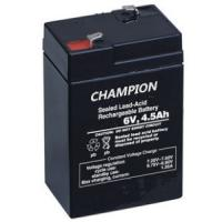 China Sealed Rechargeable 6V 4.5AH Lead Acid Battery Emergency Light Battery ISO / CE on sale