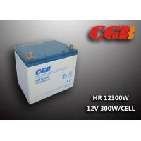 HR12300W 12V 75AH High Rate Discharge Lead Acid Battery  For UPS Manufactures