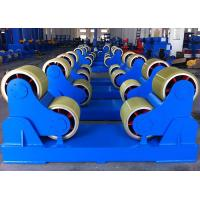 Self Aligning Pipe Welding Machine , Rotator Turning Roll Tank Welding Pipeline Welding Equipment Manufactures