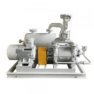 Liquid Ring Vacuum Pump Unit Low Speed Motor Energy Saving Reliable Manufactures