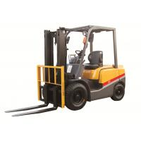 2 3 4ton ISUZU energy saving engine diesel powered forklift yellow color turning radius 2170mm with CE certificate for sale