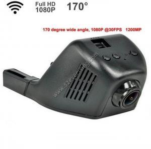 1080P Full HD Hidden 170 Degree WIFI Car Camera DVR with Sony Lens 7 Glass Lens