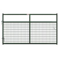 Welded Wire Horse Corral Panels With Farm Gates 14 / 16 Gauge Tube Manufactures