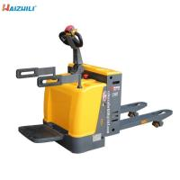 China 3000kg Electric Lift Truck , Compact Design Pallet Lift Truck Stable Performance on sale