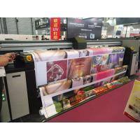 3.2m Digital Fabric Printer With Auto Constant Tension Feeding And Taking Up System Manufactures