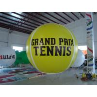 Quality Advertising Helium Sport Balloons Bespoke Inflatable Fireproof Eye - Catching for sale