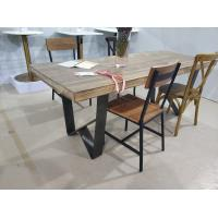 Buy cheap Industrial Cast Iron Table Legs , Metal Dining Table Base 28'' Height from wholesalers