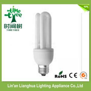 Triband Phosphor 3U 11Watt Compact Fluorescent Light Bulb / Energy Saving Light Manufactures