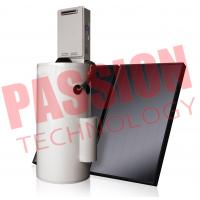 China Laser Welding Split Solar Water Heater Flat Plate White Color Steel Outer Tank on sale