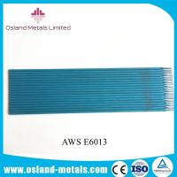 China Manufacturing Plant Supply High Quality AWS E6013 Welding Electrodes Welding Rods on sale