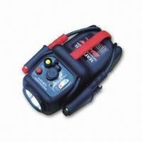 Portable Auto Jump Start with 480A Peak and 200A Starting Power, Measures 301.5 x 212 x 165.5mm Manufactures