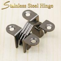 39*13*17.5 mm Stainless Steel Concealed Hinges / Heavy Duty Concealed Hinges Manufactures