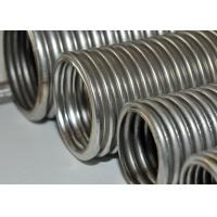 Chemical Helical Corrugated Stainless Steel Hose / Wire Braided Hose Manufactures