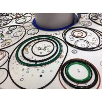 Multi Colored Nitrile Butadiene Rubber O Ring Oil Resistant OEM / ODM Service Manufactures