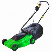 China Electric Lawn Mower with certificates  -  safe  / with a dry battery  1400w on sale
