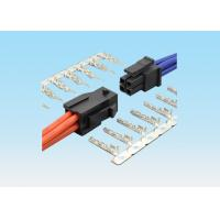 China 3.0mm Wire To Wire Connector Male And Female Mating Housing Black Color on sale